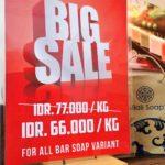 バリ島ナチュラル石鹸は激安アウトレットで大量購入!!バラマキ土産にも◎