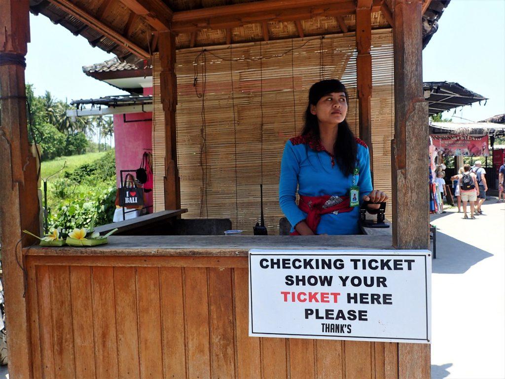 トゥグヌンガンの滝 チケット