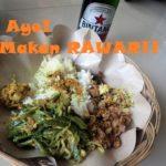 これぞ真髄!バリ島の伝統料理【ラワール】作り体験♪