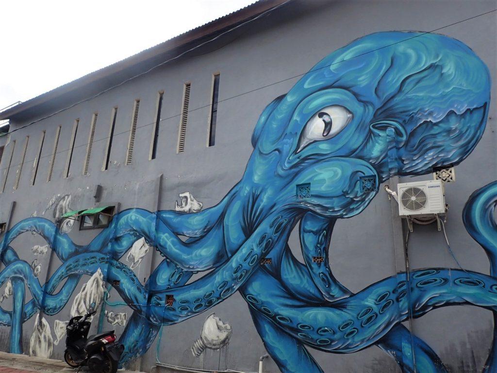 バリ島 壁画 アート