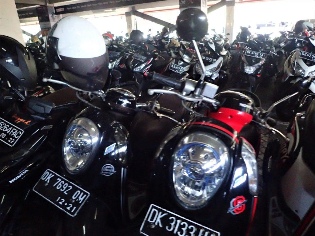 バリ島 レンタルバイク