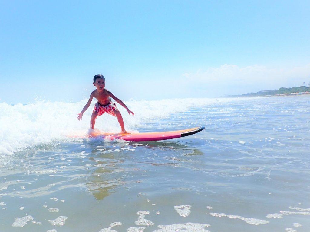 サーフィンを誘惑