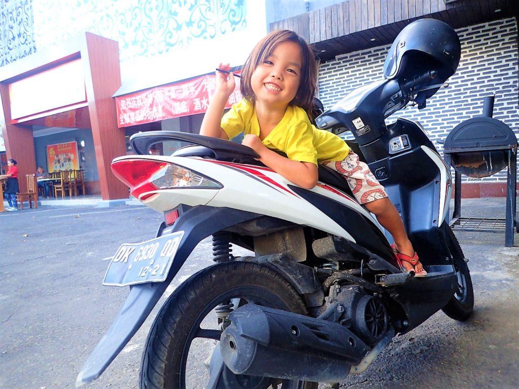バリ島バイク