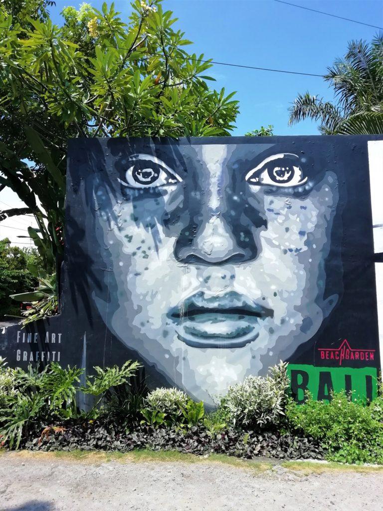バリ島 アート 壁画