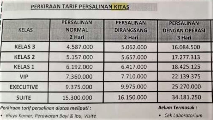バリ島 出産費用